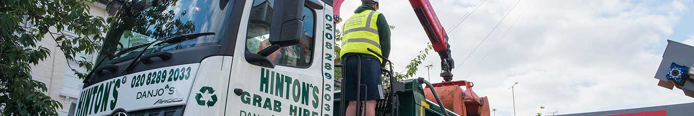Hintons Waste tipper hire