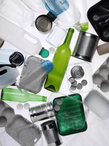 Household Waste - bottles,glass,cartons
