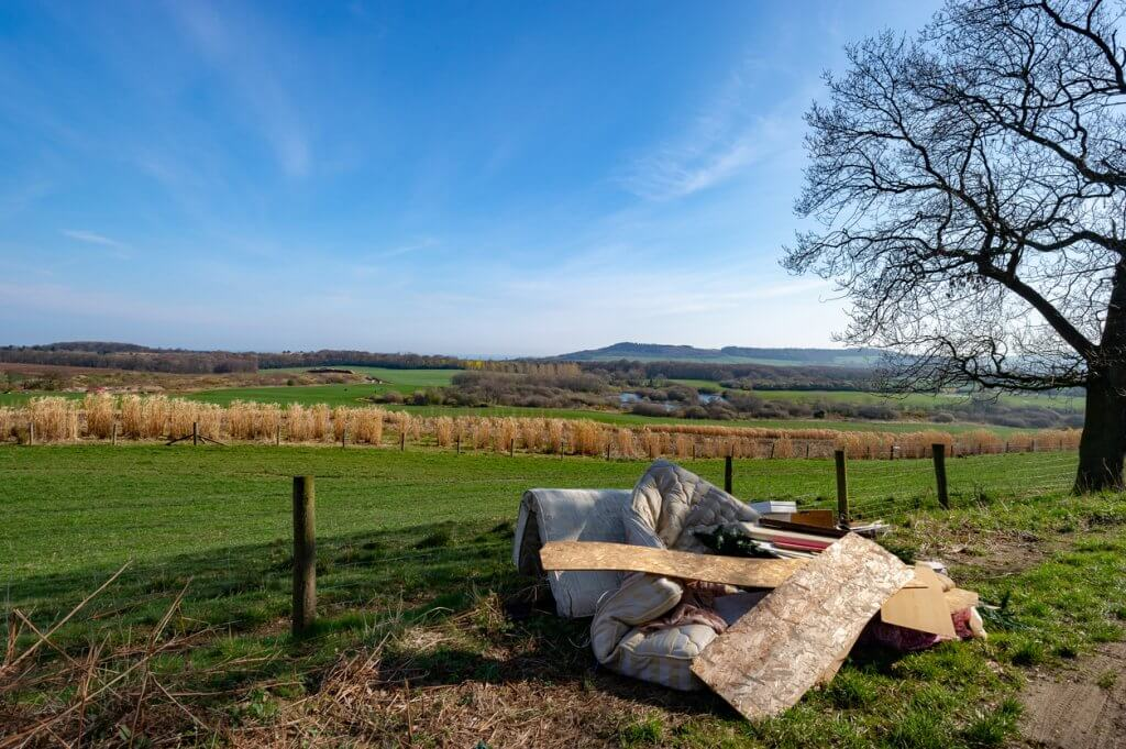 Fly tipping responsibilities on private land