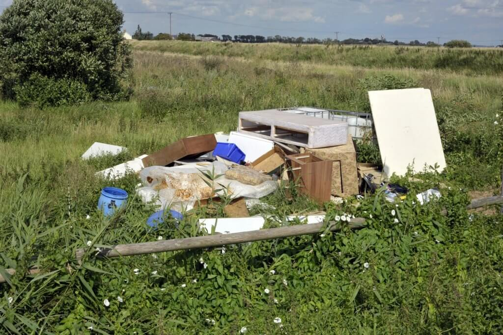 Who is responsible for fly tipping?